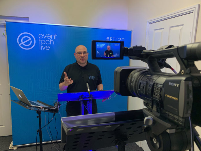 First virtual Event Tech Live wows whole wide world